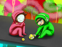 Pewds Ibb and Cry Obb by Wgirly