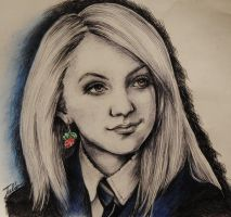 Luna Lovegood by JuliaFox90
