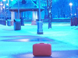 valise tangerine by TuNages