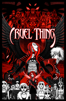 Cruel Thing Collection Cover by LucianoVecchio
