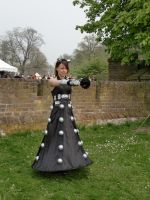 EFF 2011 - Dalek Dress by MysticTwist
