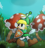 The Minish Cap by Porcodotranstorno