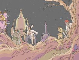 Clockwork girl by royalboiler