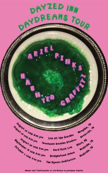 Ariel Pink Tour Poster by TB8S