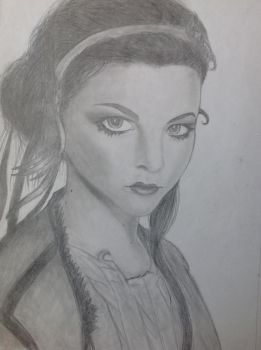Amy Lee: Evanescence by MoonLotus-Hime