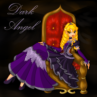Gift: Dark Angel by LaminaNati
