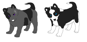 Pups for Akeena 7 by Angelwolf-95