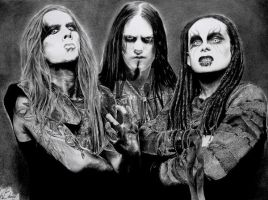 Kings of Black Metal by IrisBouman