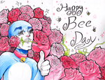 The Bee Day by ZIODYNES