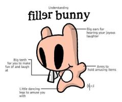 Understanding Filler Bunny... by happychild