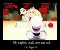 Why mephisto should never cook by N3KUU