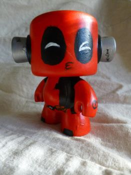 Deadpool rockin' out Vinyl - Egli by SurfTiki