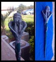 Weeping Angel Wand by ShadowMaginis