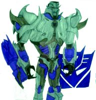 Leader of the Decepticons by InkArtWriter