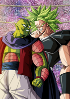 Gast Carcolh vs Broly  HD - Color by Argelios