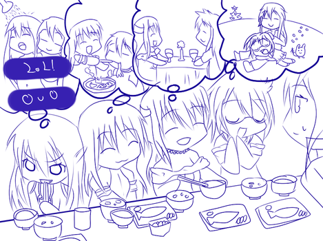 Lineart OUO WIP by Kage-Hiroshizu