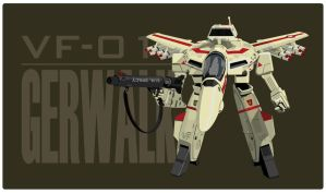 Macross Gerwalk 2 by witchking08