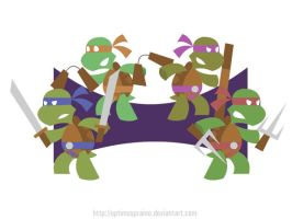 Hero Turtles by OptimusPraino