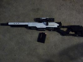 Finnished Sniper Rifle ME3 by Frost-Claw-Studios