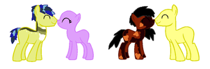 choclate love and vanila wave breedable! by star4567980