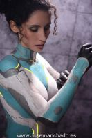 Kerrigan Bodypaint by xMorganaArT by Morganita86