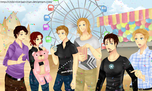Avengers - Themepark by chibi-rice-ball-chan