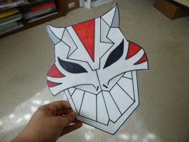 Cheshire Mask from Young Justice Finished by SaberFireTiger