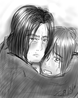 Severus and OC by iPipster