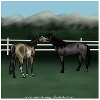 Mazzi x Slinger Breeding by painted-cowgirl