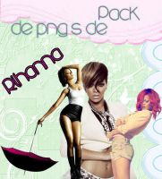 Pack png's de Rihanna by kittymoon23