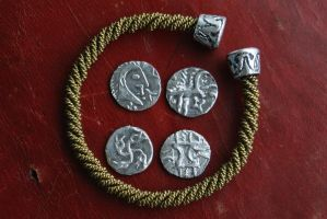 Iceni tribe coins by Dewfooter