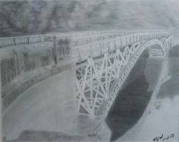 King's Bridge Finished product by Carryn