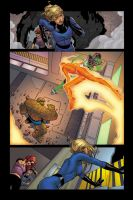 Marvel Four Page by Galon