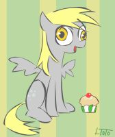 My little Derpy Hooves by LenToTo