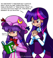 Patchy and Twilight by Kurus22
