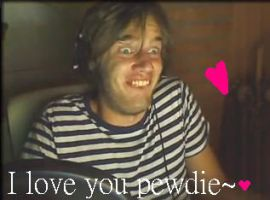 lol pewdie by WarriorCatsFan22