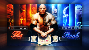Wwe Dwayne THE ROCK Johnson Wallpaper by AccidentalArtist6511