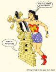TLIID Wonder Woman for Amelia - Punching a wall by Nick-Perks