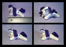 3.5 inches Rarity beanie plush by Bewareofkitty