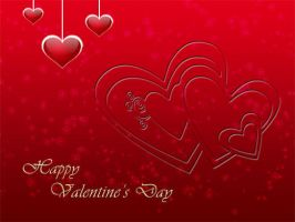 Valentine's day card psd by emperorwarion