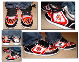 Shoe Design 05- Pangburn Pride by LimeGeen