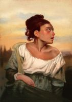 Study from Delacroix - Complete! by DrManhattan-VA