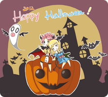 2012 Happy Halloween [NaLu] by chottion