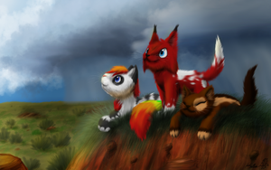 :: We Made it Through the Rain :: by DragonwolfRooke