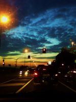 street sunset e. by ellys-vr