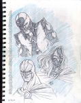 The new Nemesis 3000 sketch book by Galtharllin