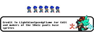 Sonic Prepared Idle [Custom] by FlameBurstAnimations