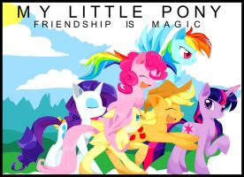 My Little Pony- Friendship is Magic by Artfrog75
