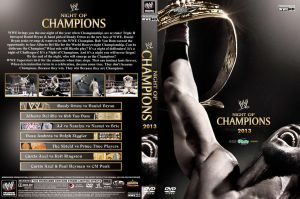 WWE Night of Champions 2013 DVD Cover V2 by Chirantha