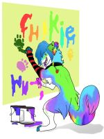 Art Trade: Chikie by kylynazur